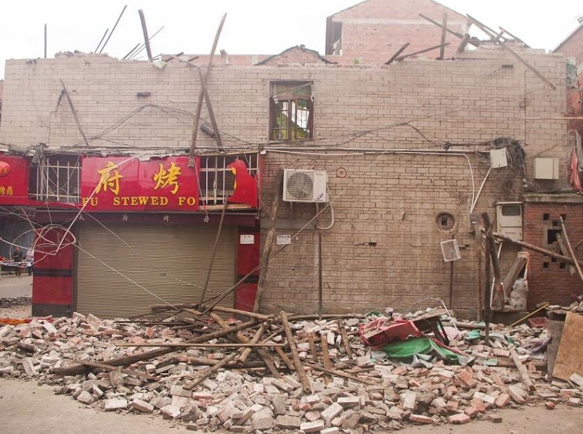 Sismo en China deja un muerto y 29 heridos