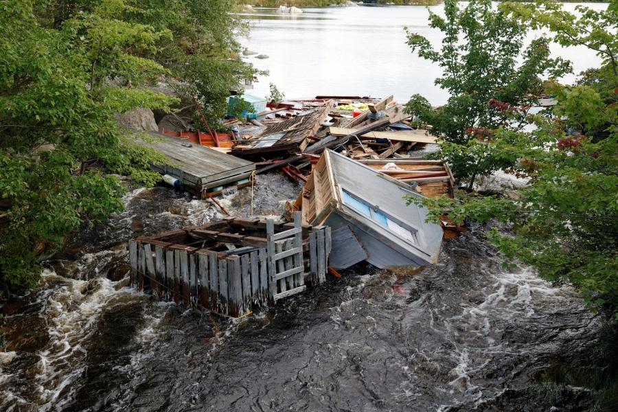 Miles de personas en Canadá se quedan sin energía eléctrica por paso de Dorian