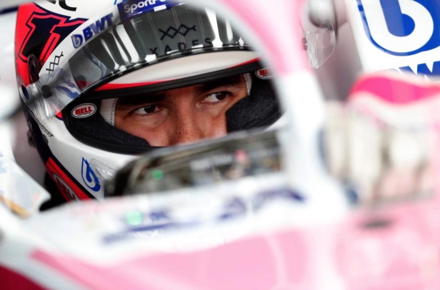 """""""Checo"""" Pérez espera que se repitan carreras como en el GP de Italia"""