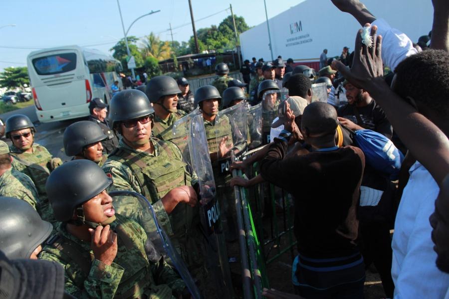 Acusa ONU que política migratoria de López Obrador es un retroceso