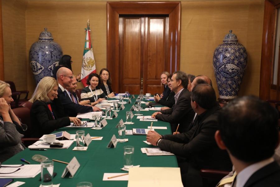 Fortalecen México y Finlandia relaciones en materia de educación