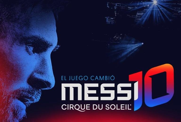 Cirque du Soleil alista show en homenaje a Messi