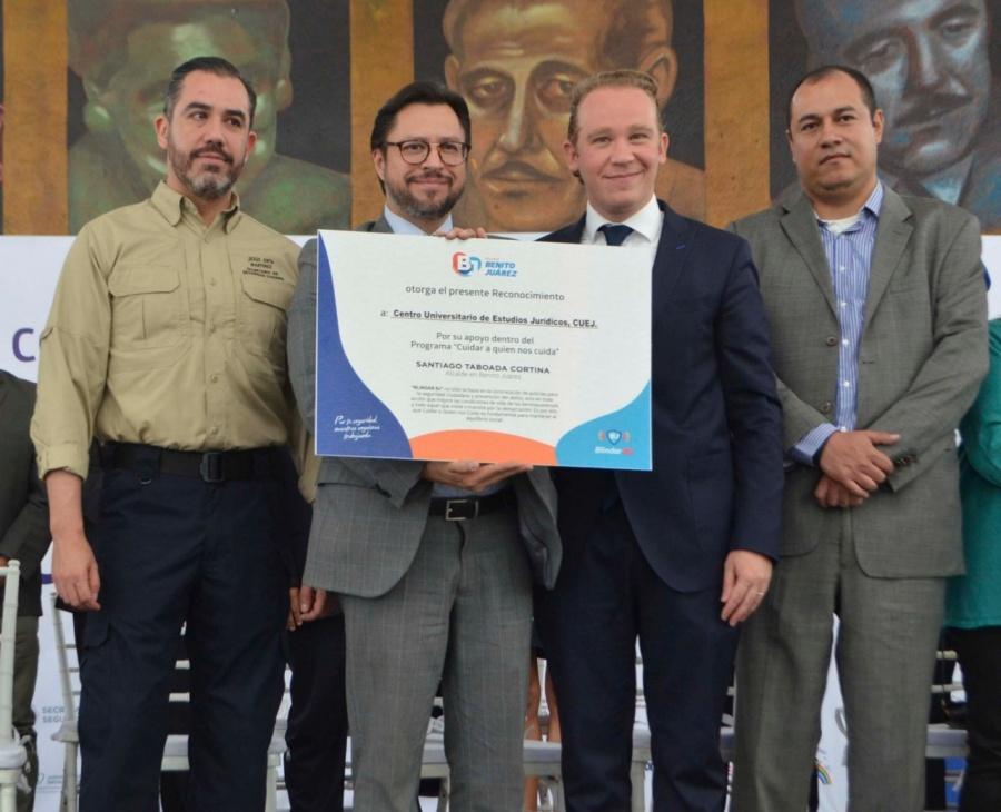 Alcaldía de Benito Juárez firma convenio con la PGJ y la SSC