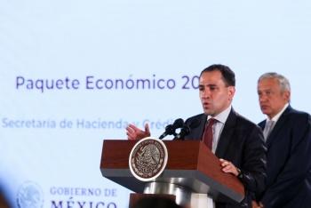 Con el Paquete Económico 2020 se hace frente a la desaceleración