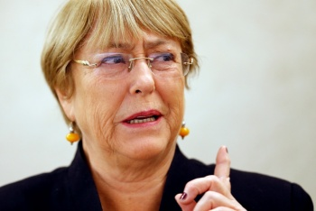 Ampliará Bachelet informe de derechos humanos sobre Venezuela