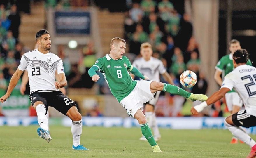 Alemania acaba con Irlanda del Norte y regresan al primer lugar