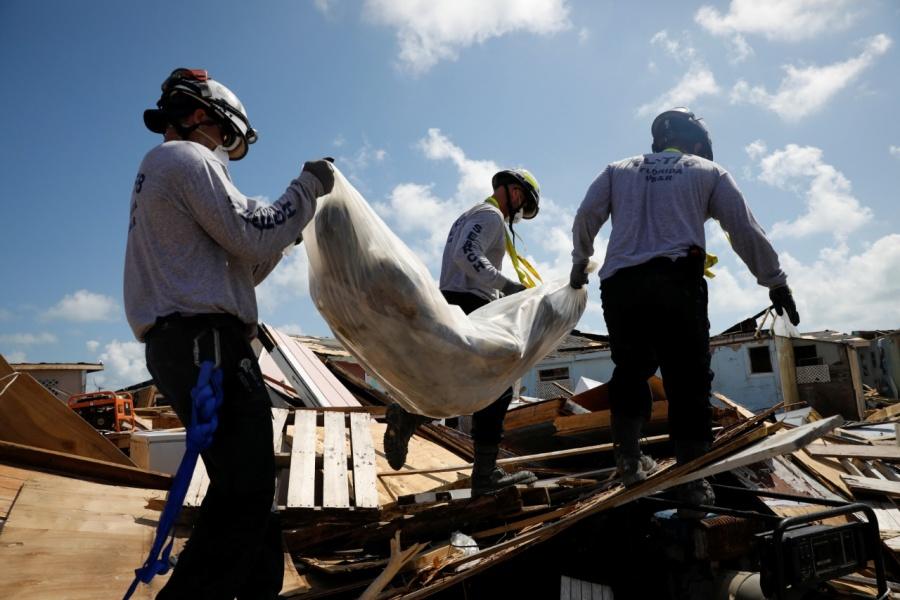 Suman 50 los fallecidos tras el paso del huracán Dorian en Bahamas