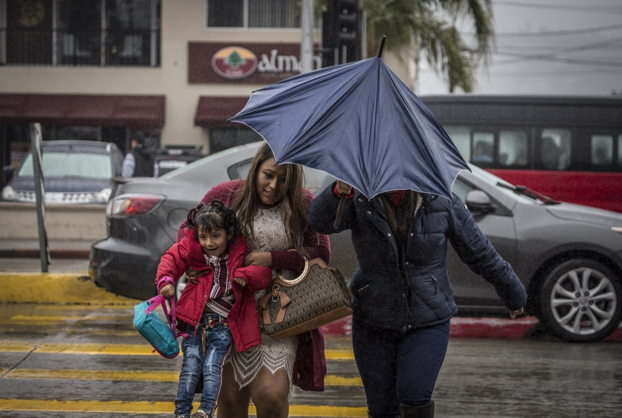 Se pronostican fuertes lluvias en la mayor parte del país