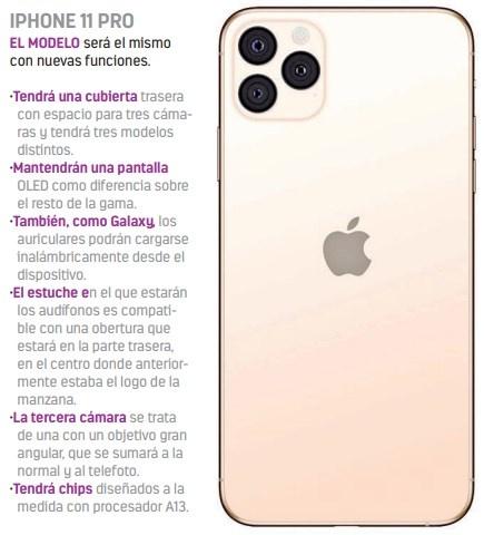 Apple apuesta por carga inalámbrica y 3 cámaras