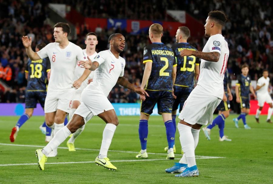 Inglaterra golea a Kosovo rumbo a la Euro 2020