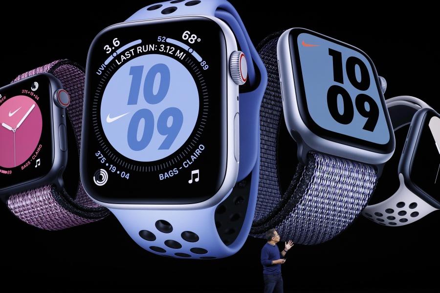 Presentan los nuevos Apple Watch Series 5