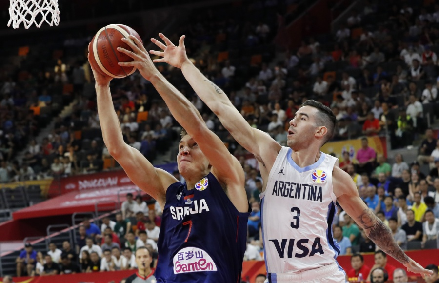 Argentina vence a Serbia y pasa a semifinales del Mundial de baloncesto