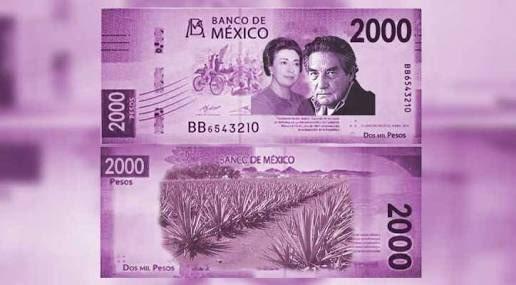 Previsto un billete de dos mil pesos, pero no por ahora