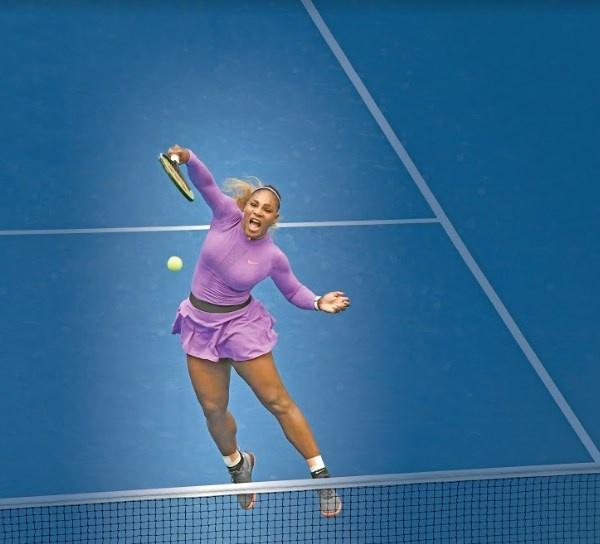 A 20 años de su primer título, Serena Williams no se doblega