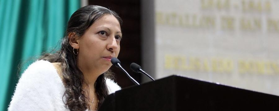 Deja diputada Evelyn Parra al PRD y se convierte en independiente, en el Congreso CDMX