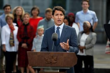 Justin Trudeau disuelve parlamento e inicia campaña de reelección