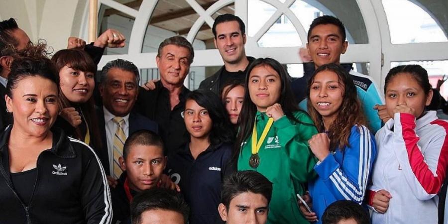 Sostiene encuentro Sylvester Stallone con boxeadores mexicanos