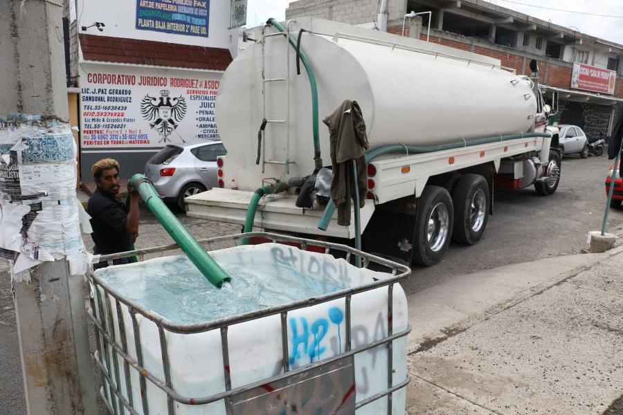 Inicia reducción de 10% del suministro de agua en CDMX