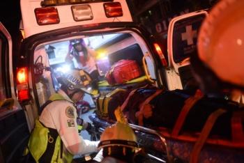 Choque en Tlalpan deja un muerto y dos lesionados