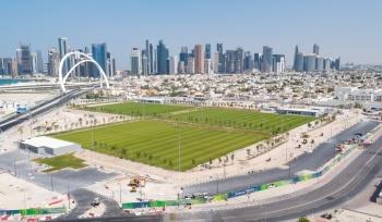Los sitios de entrenamiento para el mundial, quedarán como legado de #Qatar2022
