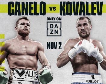 """Canelo"" regresa al ring contra Sergey Kovalev"
