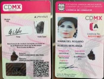 Abogado de Robles acusa a FGR de presentar licencia falsa