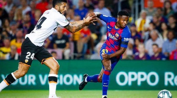 Barcelona rumbo a los primeros lugares de la liga española