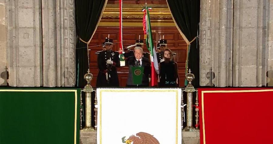 Así se vivió el Grito de Independencia de López Obrador