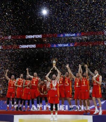 España se corona invicta en Copa del Mundo de Basquetbol