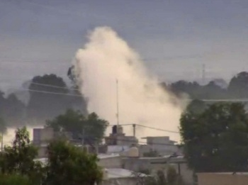 Desalojan a pobladores por fuga de gas en Acolman, Edomex