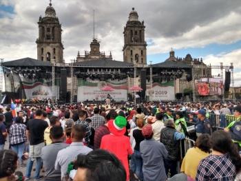 AMLO listo para dar el Grito de Independencia de México