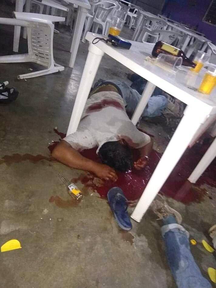 Asesinan a cinco personas en un bar de Villahermosa, Tabasco