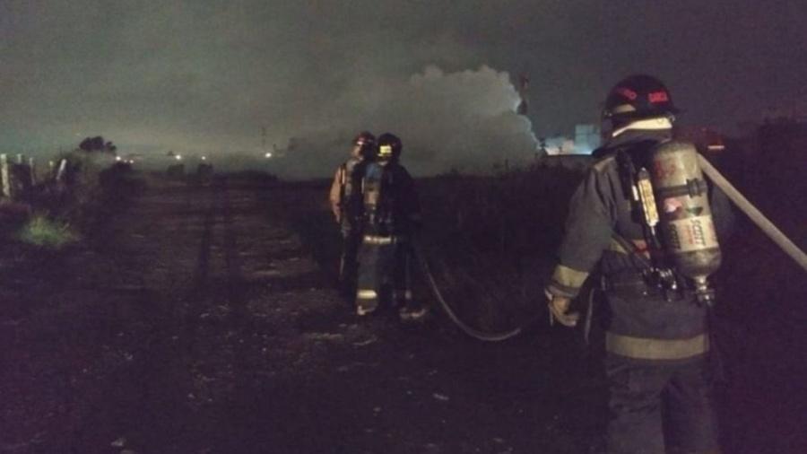 Reportan fuga de gas en Cuautlancingo, Puebla