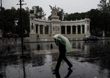 Presencia de lluvias en al menos 12 alcaldías de la CDMX