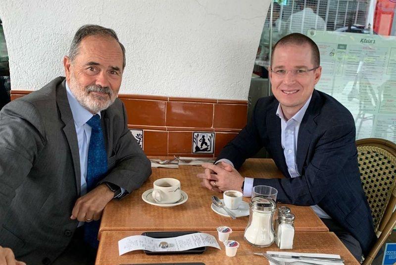Sostienen encuentro Ricardo Anaya y Gustavo A. Madero