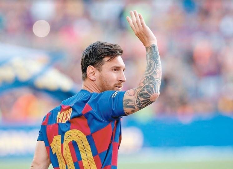 Después de 40 días sin jugar, Messi se recupera de su lesión