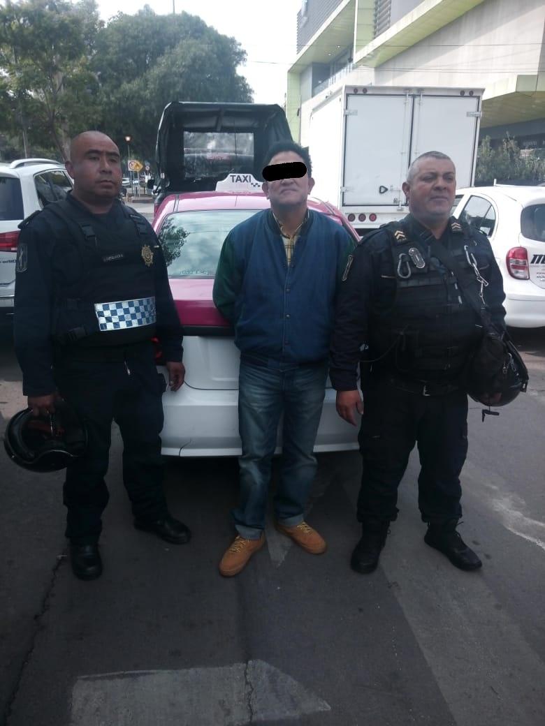 Rescatan una mujer que presuntamente fue secuestrada por un taxista