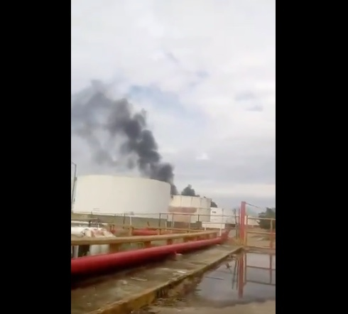 Se registra explosión en refinería de Pemex en Salina Cruz