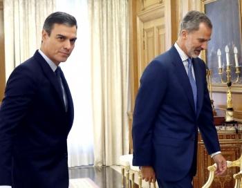 Felipe VI descarta proponer candidato presidencial y España tendrá nuevas elecciones