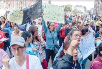 Otra vez, CNTE deja sin clases a 300 mil niños