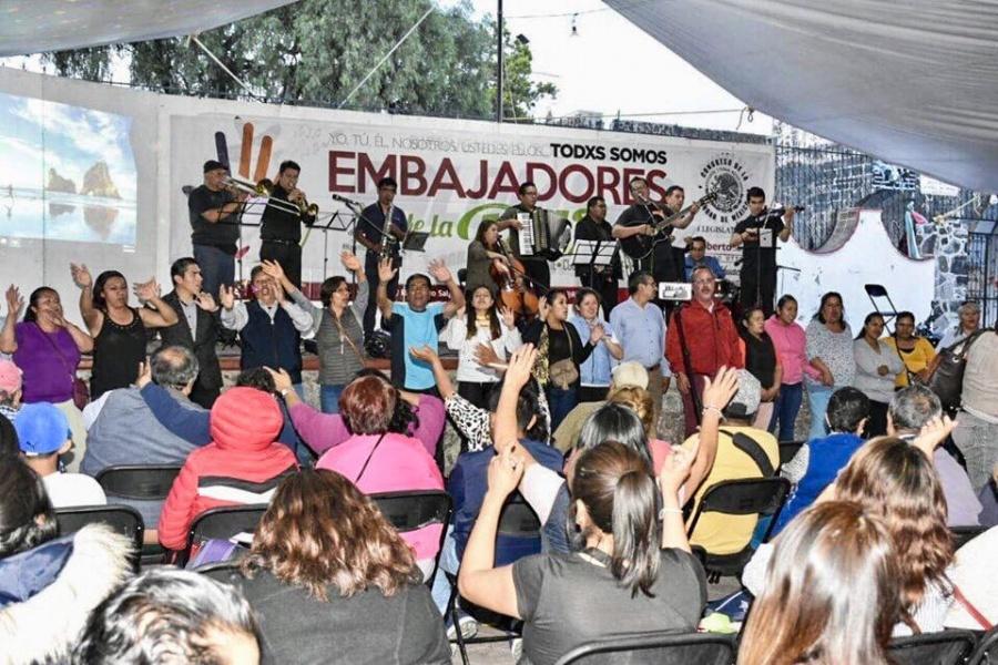 Alistan Primer Encuentro de Embajadores de la Paz en Tláhuac