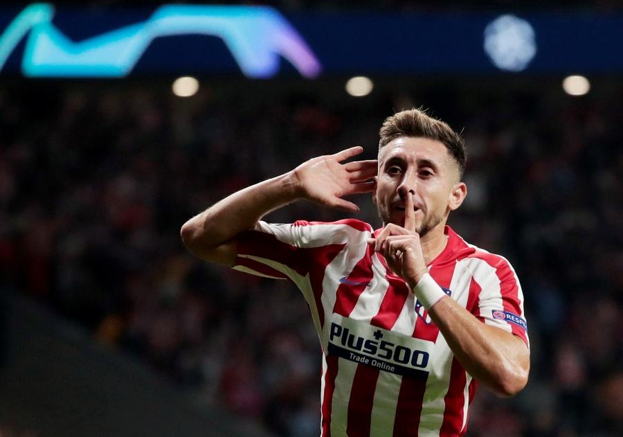 Herrera anota en el último minuto y salva al Atlético de Madrid frente a la Juventus