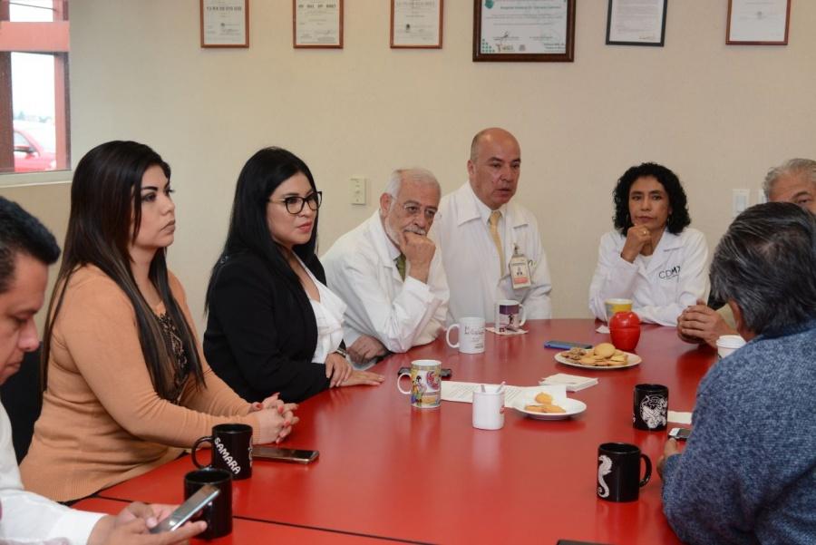 Buscan mayor presupuesto para el sector salud de la CDMX en 2020
