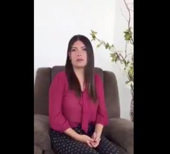 Ximena García se disculpa con AMLO e Interjet decide suspenderla