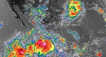"""Activan Plan Marina en cuatro estados por paso de """"Lorena"""""""
