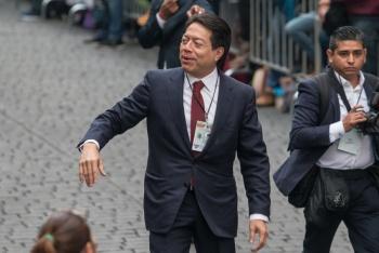 Anuncia Mario Delgado reunión con CNTE tras bloqueo
