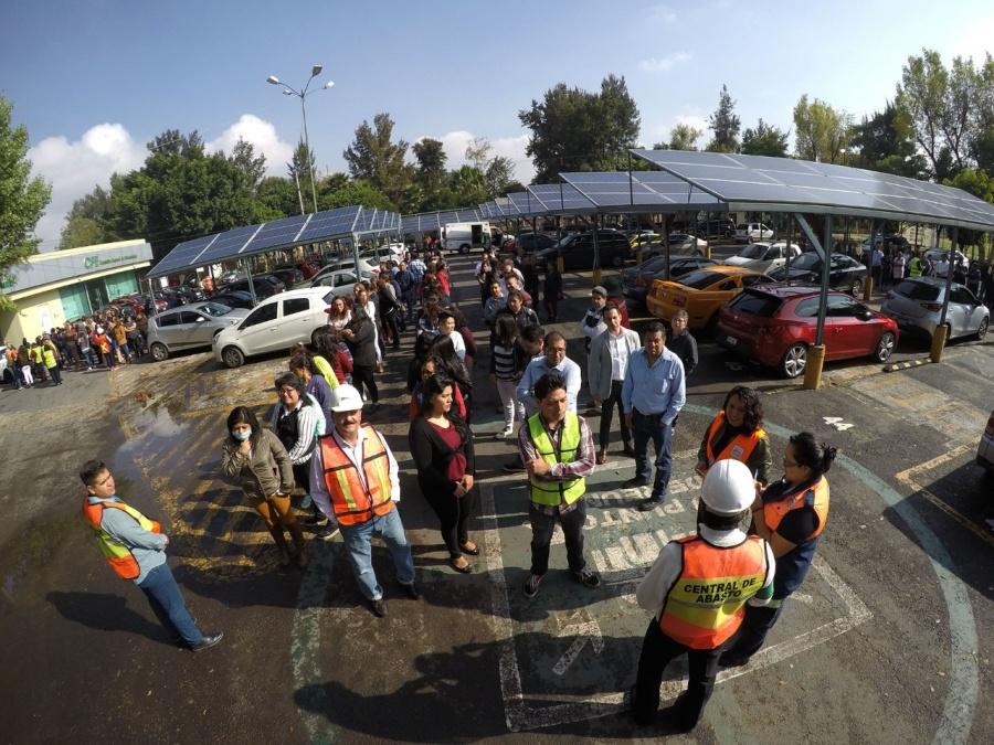Evacúa Ceda a más de 4 mil personas durante macrosimulacro