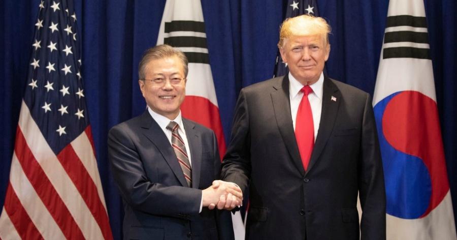 Presidentes Moon y Trump sostendrán cumbre en Nueva York