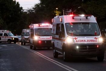 La Cruz Roja recordó a las víctimas de 1985 y 2017