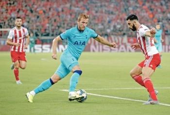 Tottenham deja escapar la victoria ante el Olympiacos